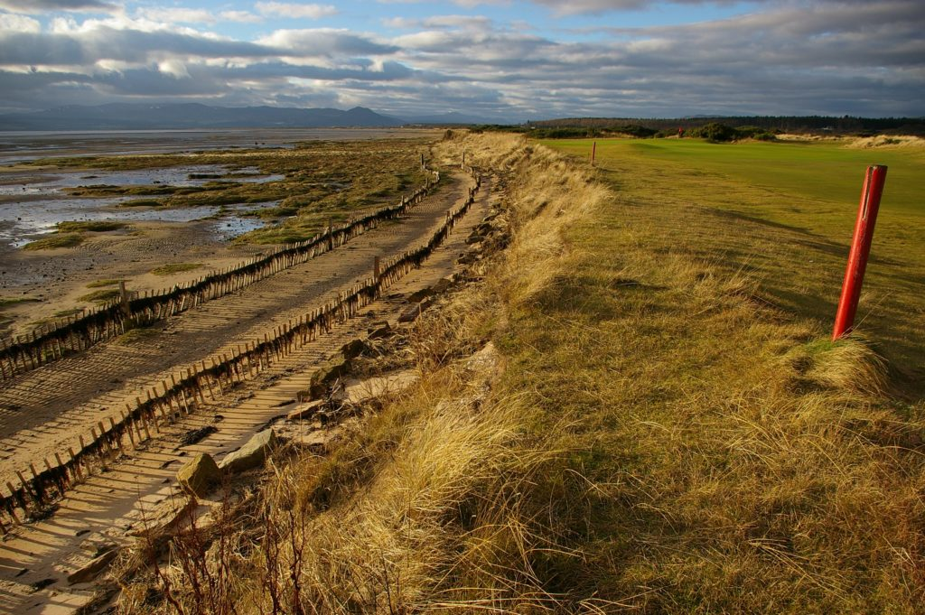 Royal Dornoch saltmarsh degredation