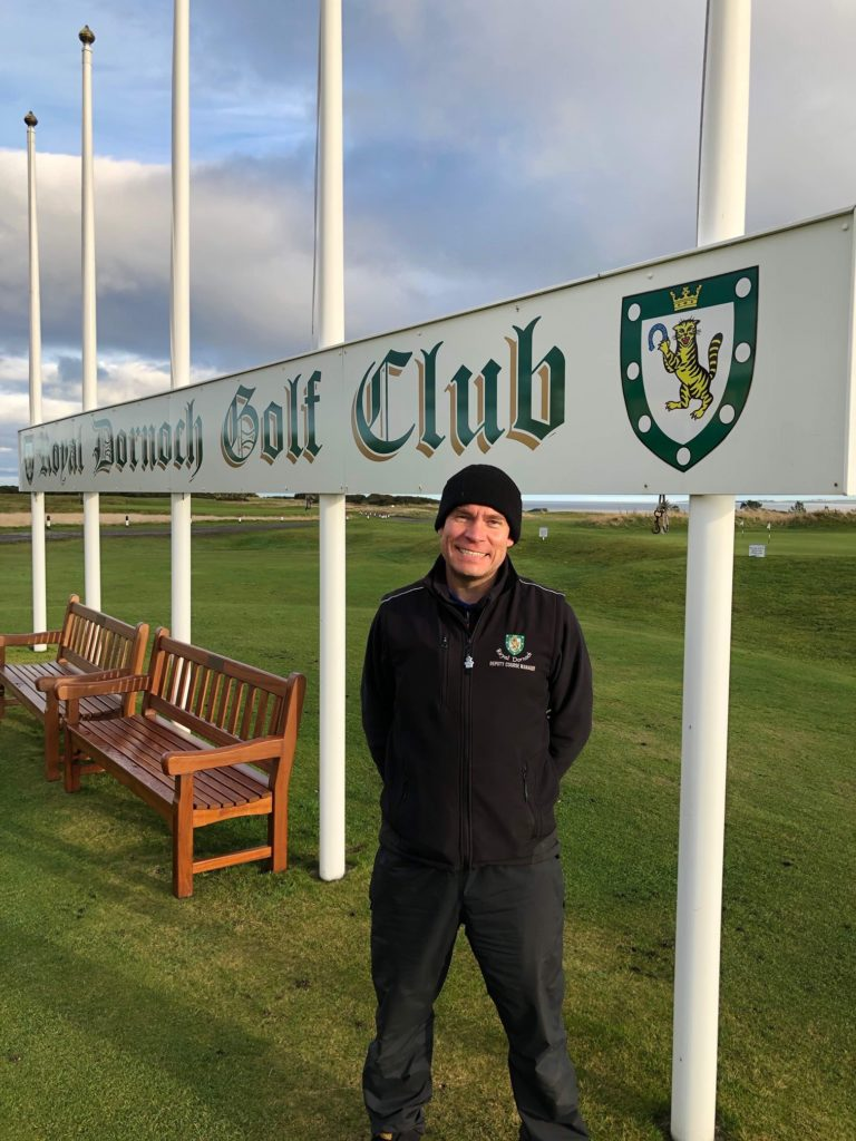 royal dornoch u2019s scott selected for leading industry show