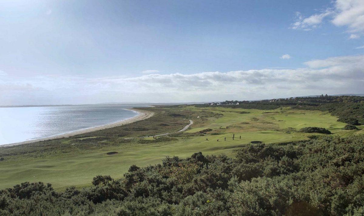 Royal Dornoch Golfers Help Ensure A Happy New Year Royal